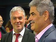Luís Filipe Vieira jantou com deputados do Benfica
