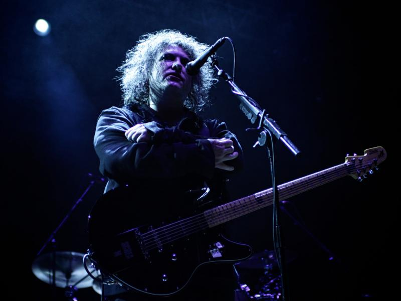 The Cure no Optimus Alive 2012 (foto: Paulo Sampaio)