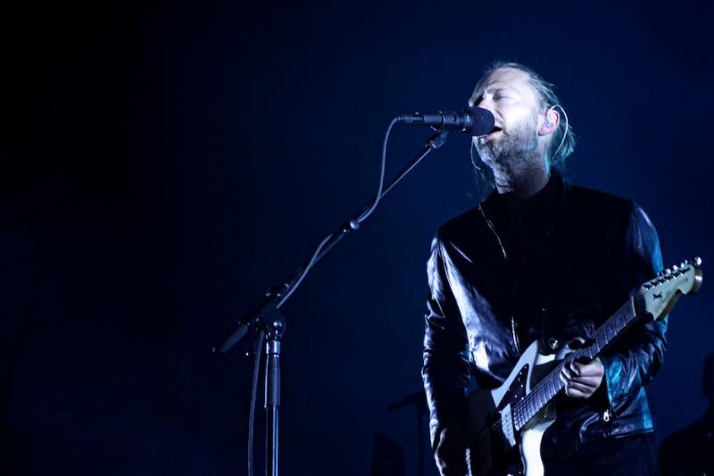 Radiohead no Optimus Alive 2012 (foto: Paulo Sampaio)