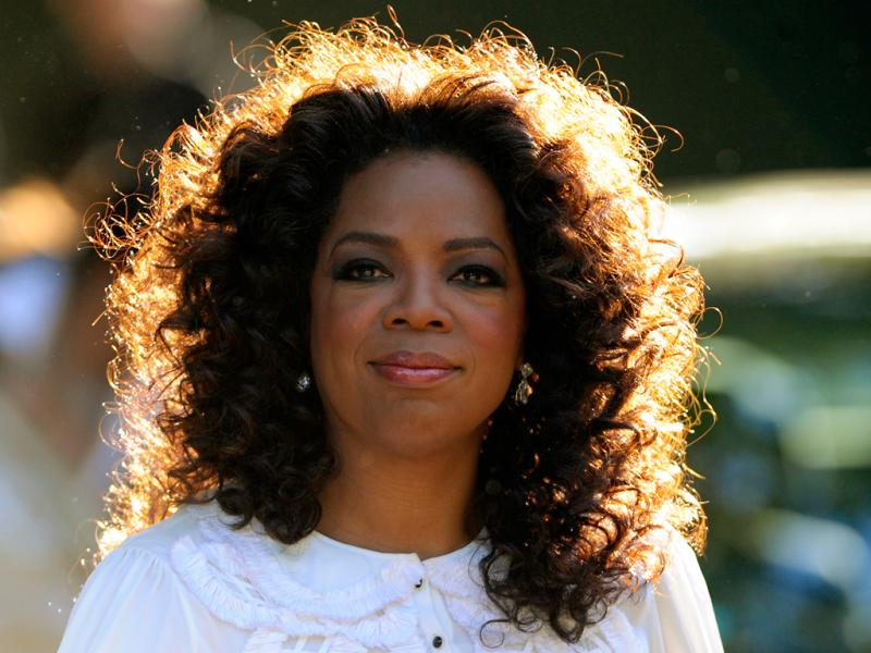 Oprah Winfrey, apresentadora de televisão