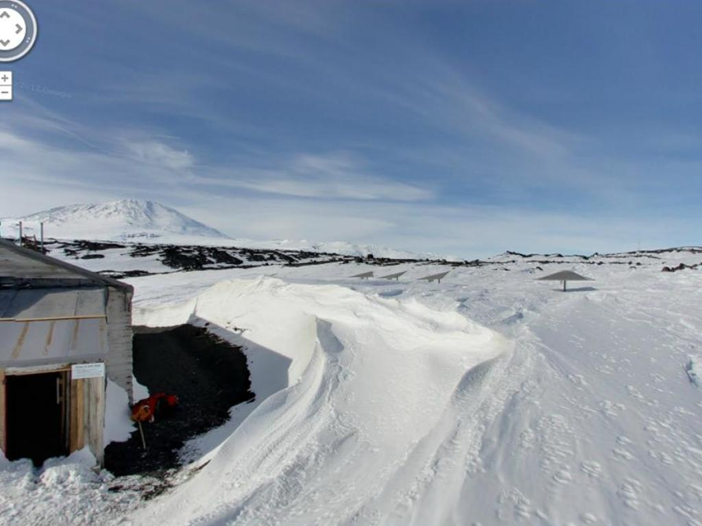 Google disponibiliza imagens nunca antes vistas da Antártida