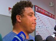 Ronaldo, o gordo, na Luz