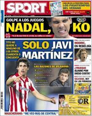 «Sport»: Tito quer Javi Martínez