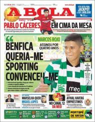 «A Bola»: Rojo assinou por quatro anos
