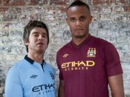 Equipamento do Man. City para 2012/13