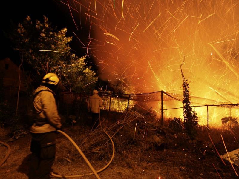 Madeira em chamas (LUSA)