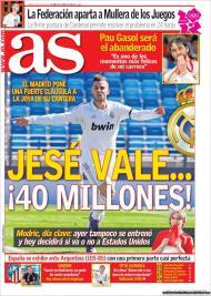 «As»: Real Madrid blinda Jesé