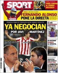 «Sport»: Barça e Athletic negoceiam Javi Martínez