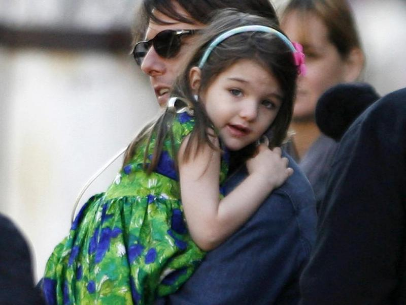 Suri, a filha de Tom Cruise e Katie Holmes (Reuters)