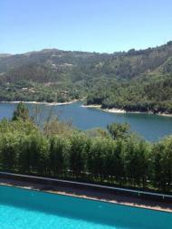 Kátia Aveiro partilha foto da vista da casa de Cristiano Ronaldo Foto: Facebook
