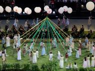 Cerimónia de abertura dos Jogos Olímpicos 2012, em Londres