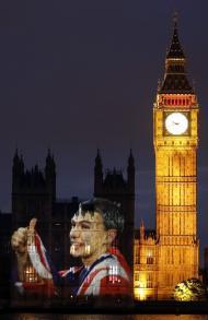 Jonathan Edwards - Abertura dos Jogos Olímpicos de Londres 2012 Foto: Reuters