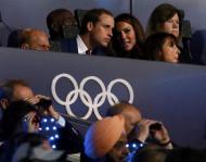 Príncipe William e Kate Middleton - Abertura dos Jogos Olímpicos de Londres 2012 Foto: Reuters
