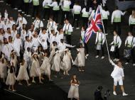 Reino Unido - Abertura dos Jogos Olímpicos de Londres 2012 Foto: Reuters