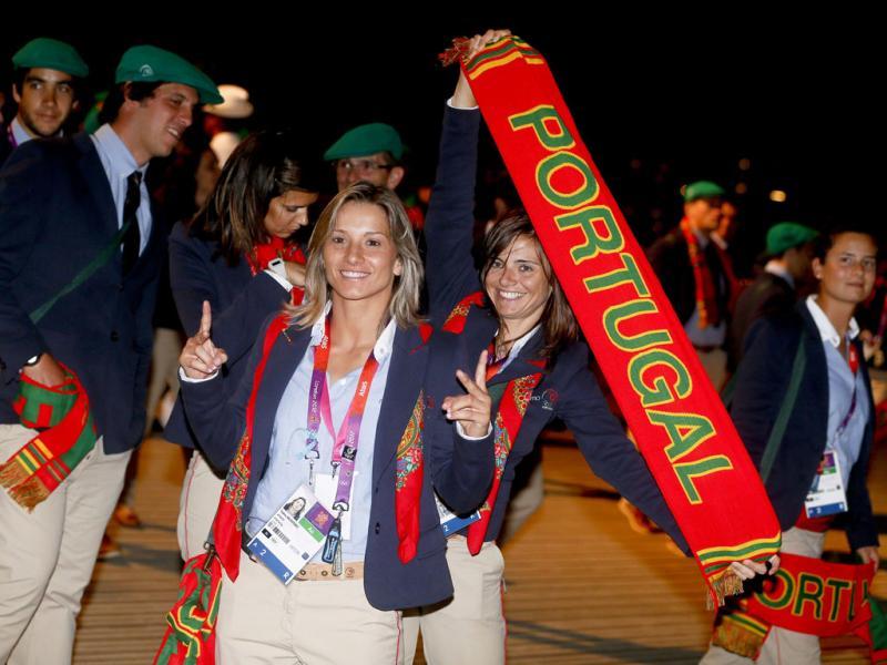 Missão olímpica portuguesa (EPA/Diego Azubel)