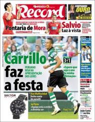 «Record»: Sporting venceu o St. Etienne na apresentação
