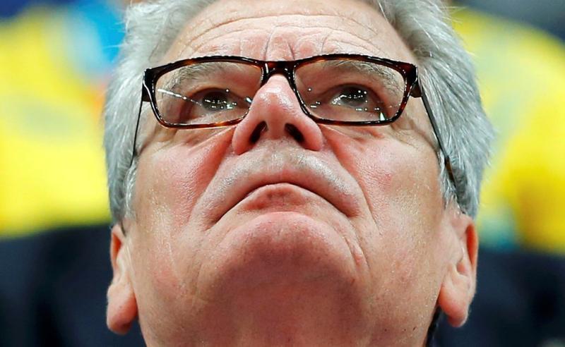 Joachim Gauck, presidente da Alemanhã - Jogos Olímpicos de Londres - dia 28 julho Foto: Reuters