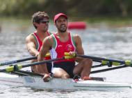 Nuno Mendes e Pedro Fraga (EPA/Nic Bothma)