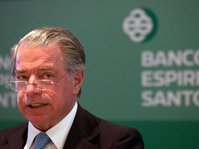 Ricardo Salgado na apresentação dos resultados do BES relativos ao 1.º semestre [ANTONIO COTRIM/LUSA]