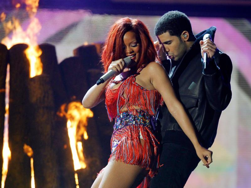 Rihanna e Drake (Reuters)