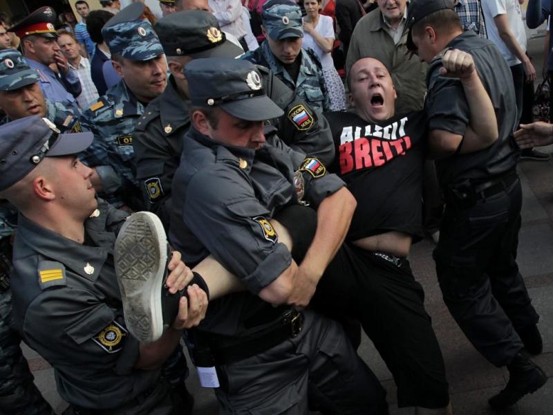Manifestação anti-Putin em Moscovo (Reuters)