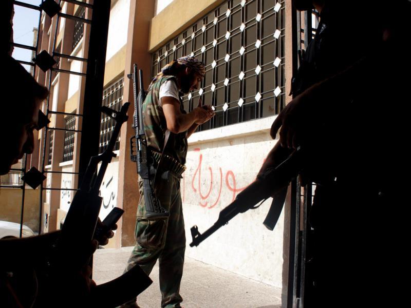 Síria: o lado dos rebeldes (LUSA)