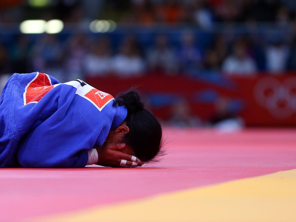 Londres 2012 Judo: Yahima Ramirez