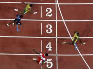 2008: Usain Bolt, o relâmpago jamaicano que atravessou Pequim e ganhou os 100m com recorde do mundo (9.69s); e repetiu a dose nos 200m