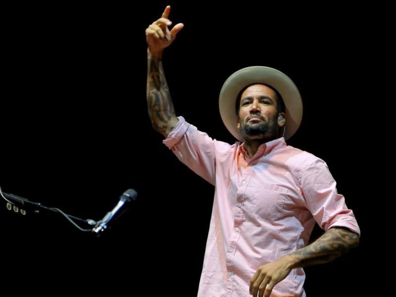 Ben Harper no festival Sudoeste TMN 2012 (Tiago Canhoto/LUSA)