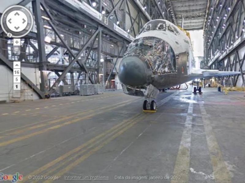 Visite o Centro Espacial da NASA com o Street View