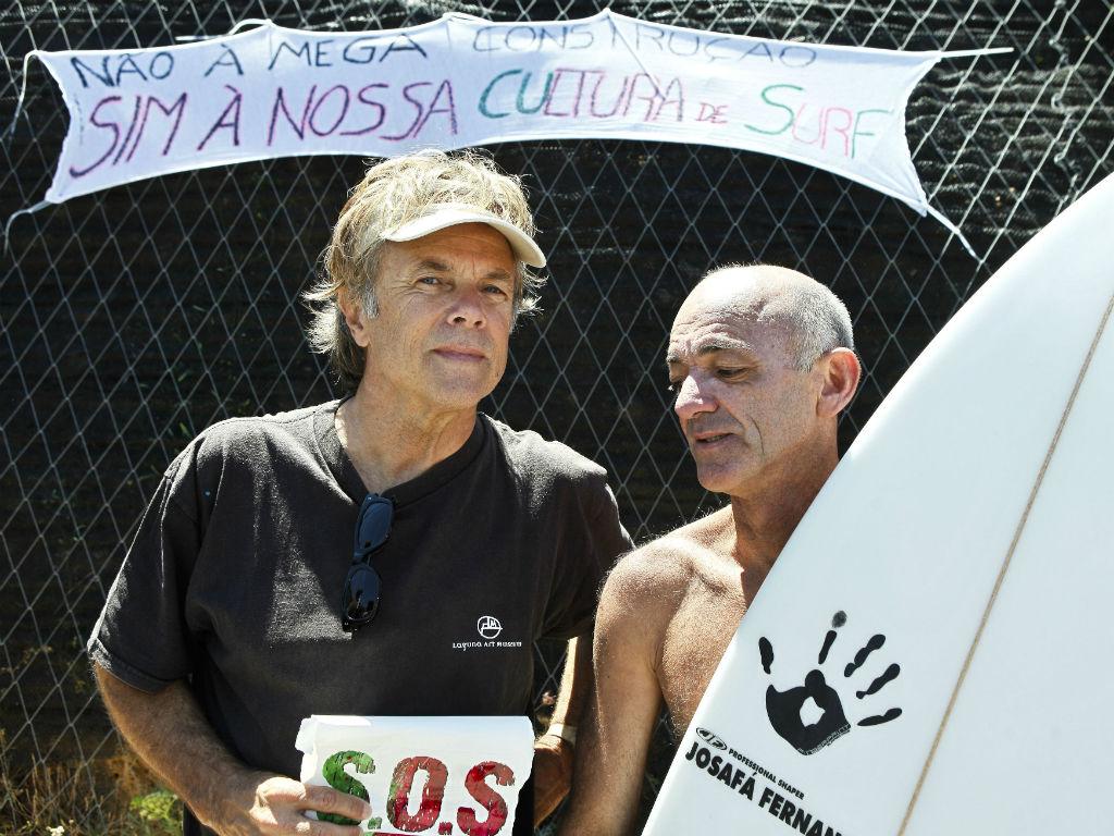 Ericeira: surfistas protestam contra autarca (Miguel A. Lopes/Lusa)