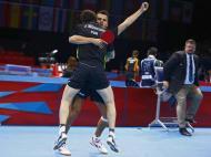 Portugueses do ténis de mesa (Reuters)