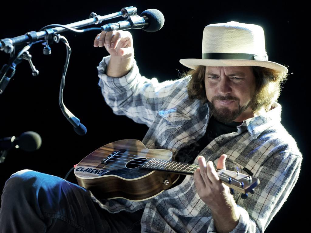 Eddie Vedder no festival Sudoeste TMN 2012 (Tiago Canhoto/LUSA)