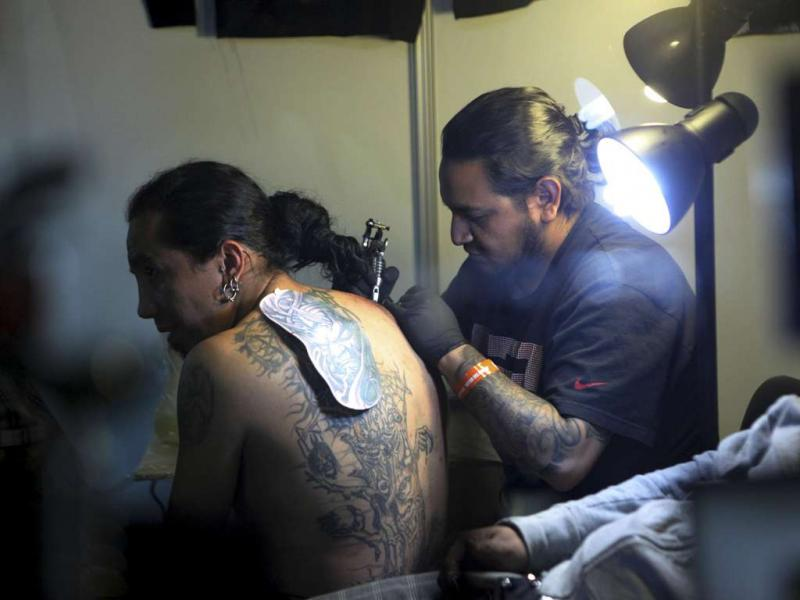 Tattoo Art Mex 2012 (Reuters)