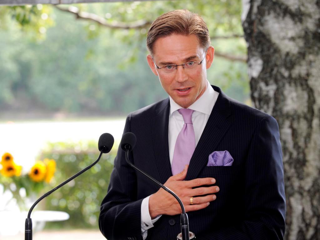 Primeiro-Ministro finlandês, Jyrki Katainen (foto Reuters)