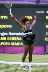 Mais uma medalha para Serena Williams