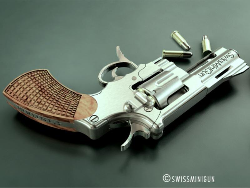 A arma mais pequena do mundo (Imagem retirada do site da empresa)
