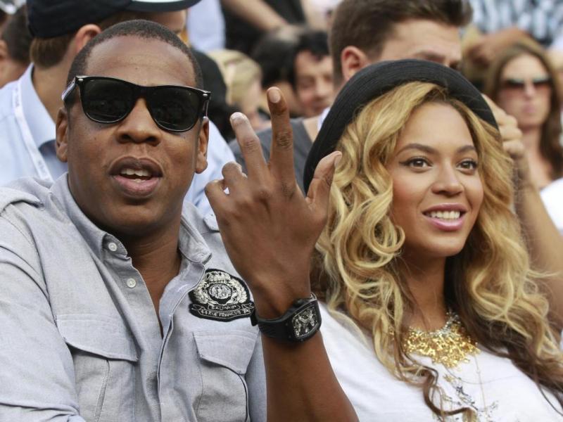 1. Beyoncé e Jay-Z - 63,1 milhões de euros