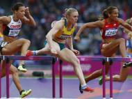 Lolo Jones nos Jogos Olímpicos de Londres