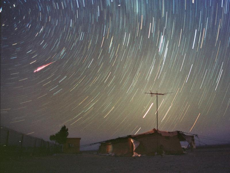 Chuva de estrelas: lá estão elas