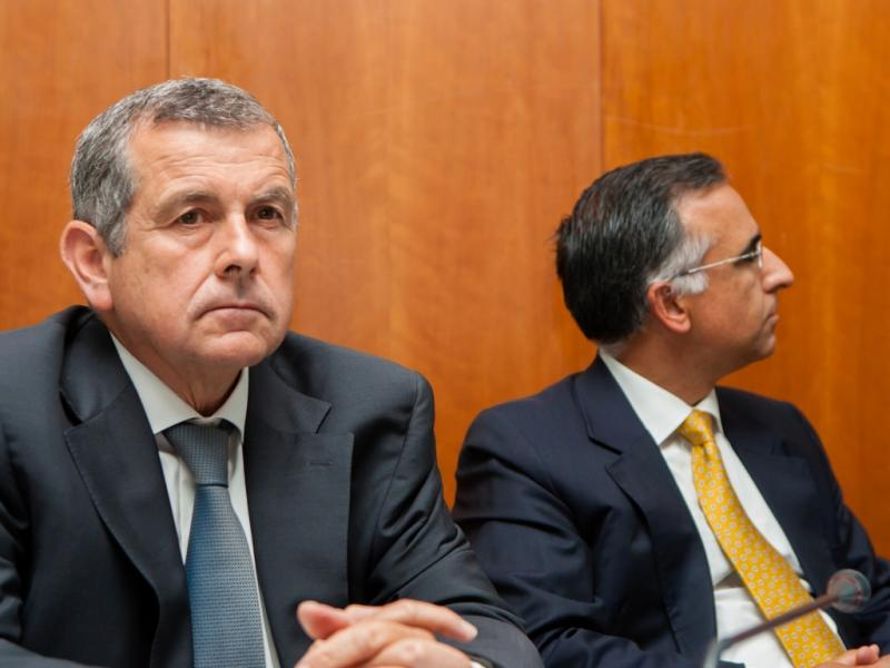Vasco Mello, da Brisa, e Luís Laginha, da Euronext Lisbon