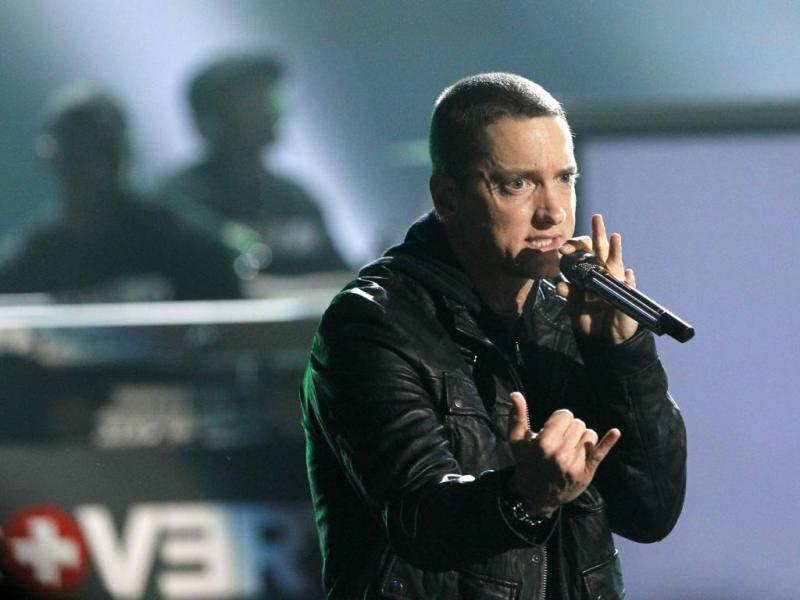 3. Eminem: 11,9 milhões de seguidores no Twitter e 60,4 milhões de fãs no Facebook (Reuters)