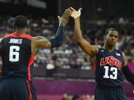 Jogos Olímpicos 2012: USA vs Argentina (EPA)