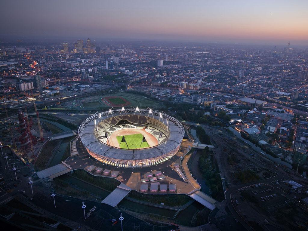 Estádio Olímpico de Londres (EPA/LOCOG)
