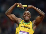 Usain Bolt nos Jogos Olímpicos de Londres 2012 (Lusa)