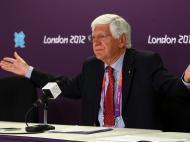 Londres 2012: conferência de imprensa de Vicente Moura (Lusa)