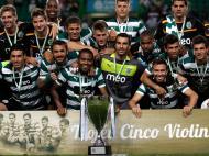Troféu 5 Violinos: Sporting vs Olympiacos (Lusa)