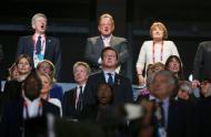 David Cameron - Cerimónia de encerramento dos Jogos Olímpicos Londres2012 Foto: Reuters