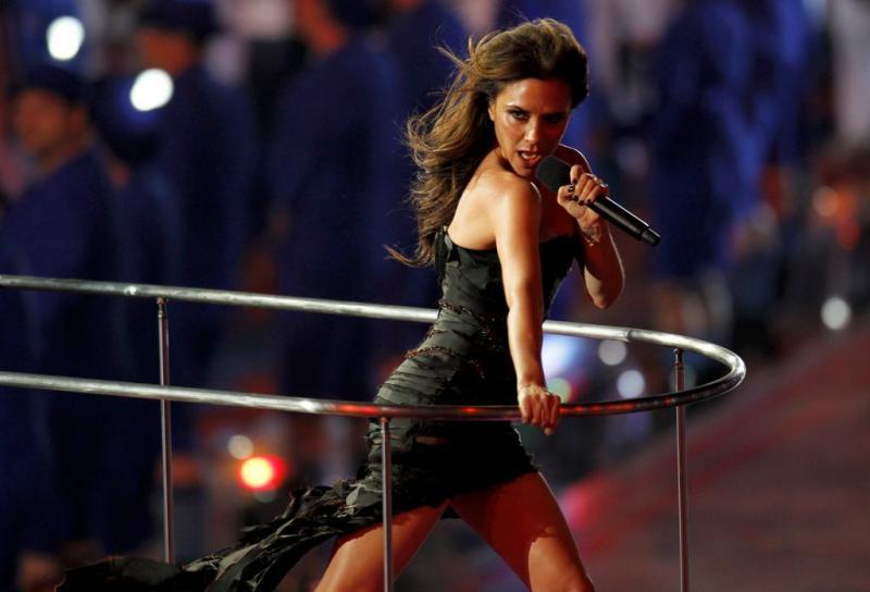 Victoria Beckham das Spice Girls - Cerimónia de encerramento dos Jogos Olímpicos Londres2012 Foto: Reuters