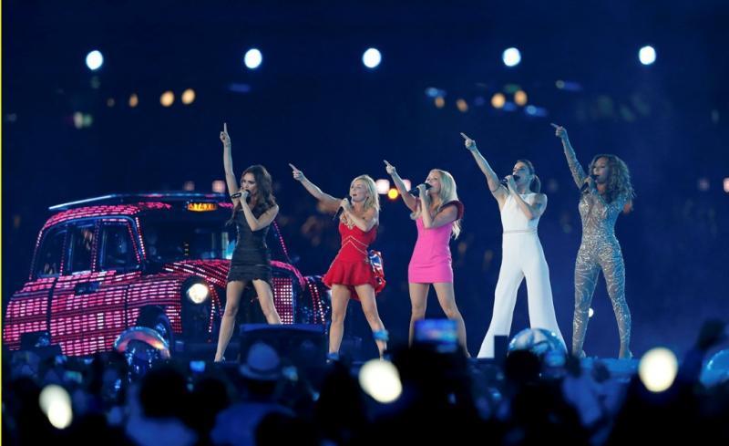 Spice Girls - Cerimónia de encerramento dos Jogos Olímpicos Londres2012 Foto: Reuters